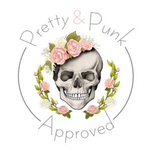 Pretty and Punk badge